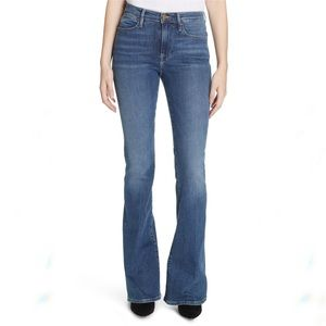 Frame Denim Le High Flare Jeans Cristallo Wash 28